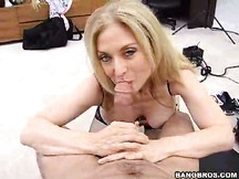 Sexy milf Nina cheating on her hubby